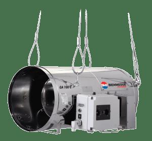 Aquecedor - Gerador de Ar quente - Biemmedue ALD Arcotherm GA100C